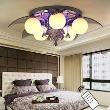 Wohnzimmer Deckenlampe Natsen Led Deckenlampe 5 Flammig Inkl Led E27 ø80cm Kristall