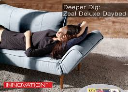 Modern Digs Furniture by Deeper Dig The Zeal Deluxe Daybed By Innovation Modern Digs Llc