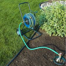 hose reel truck with 200 foot capacity yard butler store
