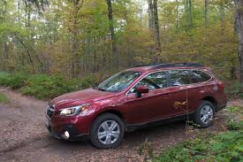 subaru outback modified 2018 subaru outback review first drive a refresh with major updates