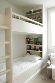 bedroom contemporary kids room with lengthy modern bunk bed idea