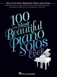 100 of the most beautiful piano solos hal leonard corp