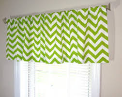 Lime Green Valances Chartreuse Valance Etsy