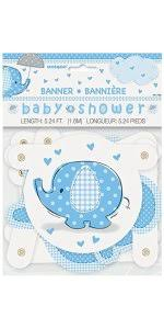 Thank You Cards For Baby Shower Gifts - amazon com blue elephant boy baby shower thank you cards 8ct