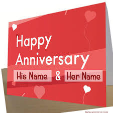 wedding wishes editing specially name wishes wedding anniversary card image write