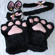 black claws cat costume black claws pointed nails cell piccolo