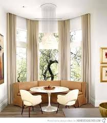 decor designs fantastic modern kitchen curtains home designs bay ideas within