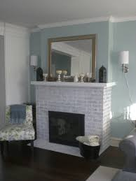 fireplace makeover part 2 whitewashed brick