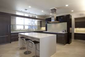 kitchen island set white quartz countertop in showing the luxurious kitchen white