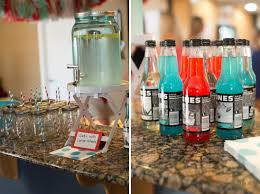 a bicycle themed baby shower in red and turquoise the little
