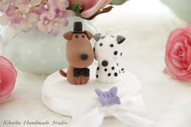 dog wedding cake toppers groom puppy wedding cake topper