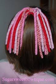 korker bows hair streamers pink jpg