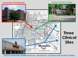 University Of Tennessee Campus Map by Uthsc College Of Dentistry Advanced Education In General