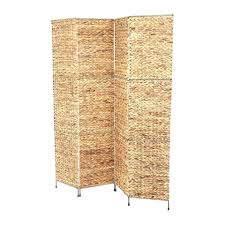 room divider hanging venetian wooden 4 panel screen natural