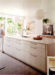 Beach House Kitchens Pinterest by Ikea Ringhult Cabinet Fronts With Caesarstone London Grey