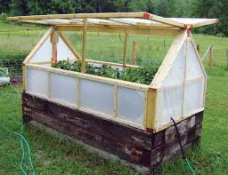 How To Build A Large Raised Garden Bed - inexpensive mini greenhouse diy mini greenhouse railroad ties