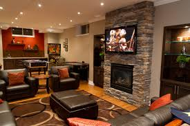 Basement Living Room Living Room New Wall Mounted Fireplace Ideas 2017 Living Rooms
