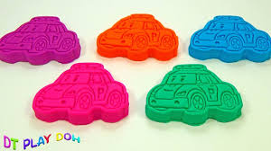 learning colors video children play doh modelling clay