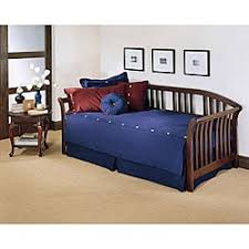 winsloh medium oak daybed free shipping today overstock com