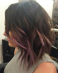 short hairstyles with peekaboo purple layer pin by ju mollo on cabelos pinterest hair inspo hair make up