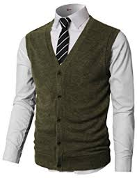 sweater vests mens h2h mens casual slim fit solid texture button front lightweight