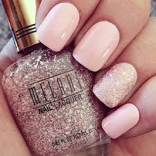 light pink glitter nails pictures photos and images for facebook