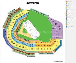 Miller Park Seating Map Fenway Park Seating Map Maps Colorado