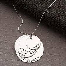 personalized jewelry for kids my whole necklace with kids names personalized cursive