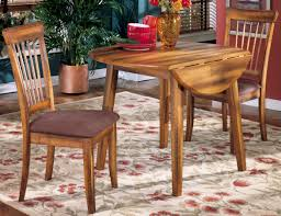 Wood Drop Leaf Table Drop Leaf Table Side Chairs With Upholstered Seats Solid Wood