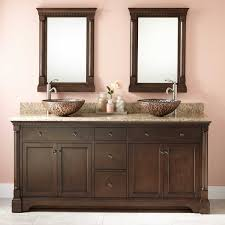 double bowl sink vanity 52 most fantastic vessel sink vanity washroom half bath rustic