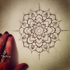 thigh tattoo sketches love this its pretty and has the dot work i like incorporated