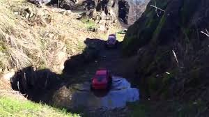 backyard outlaw rc crawling event at clear creek gorge in redding