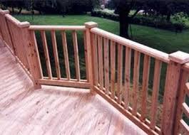 ringhiera in legno per giardino ringhiere per scale scale