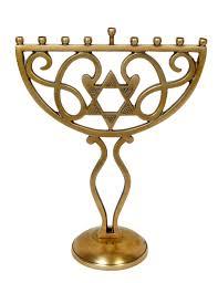 where can i buy a menorah buy menorah aluminium with a brass antique finish 12 x 9