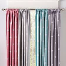 How To Make Room Darkening Curtains Prepster Dotted Blackout Curtains Make Your Child S Room