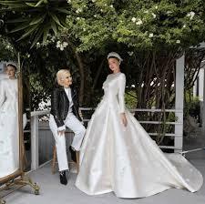 wedding dress grace see miranda kerr s grace inspired wedding dress vogue