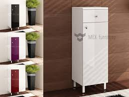 high gloss storage cabinets with bathroom corner cupboard and