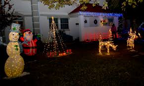 holiday decorated homes brighten up the night u003e barksdale air force base u003e article display