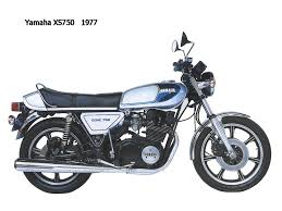 yamaha xs750 brief about model