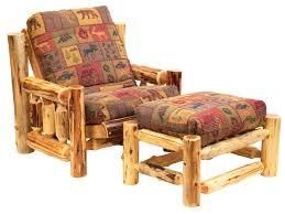 ottoman futon chair and ottoman futon chair and ottoman cedar