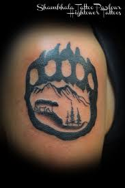 bear paw tattoo 2 best tattoos ever