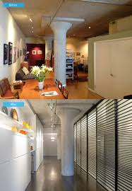 Loft Apartment Design by Before And After A Loft Apartment Transformation In San Francisco