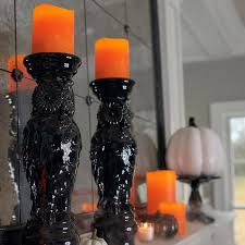 flameless textured battery operated candle grandin road