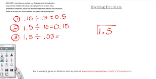dividing decimals 4 problems 5th grade math youtube