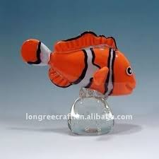 glass decoration floating glass fish buy floating glass fish