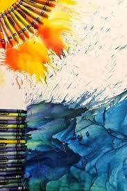 melted crayon art paint brush katie hrubec hrubec hrubec hrubec