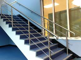 image of metal stair nosing for vinyl flooring stair nose molding