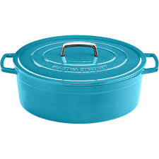martha stewart collection collector u0027s enameled cast iron 8 qt