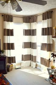 How To Hang Curtains On A Round Top Window Best 25 Corner Curtains Ideas On Pinterest Corner Window