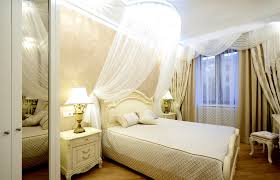 Sheer Bed Canopy How To Make Your Small Bedroom Look Bigger Designing Idea